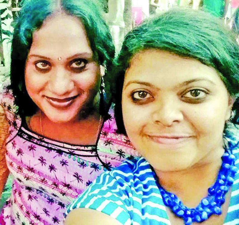 Shanthi and Poornima