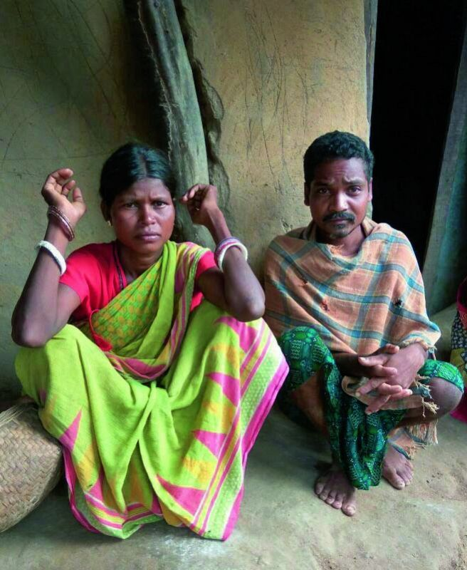 A couple — Unga Madkami and Kose Madkami — who lost three children in the past three years.