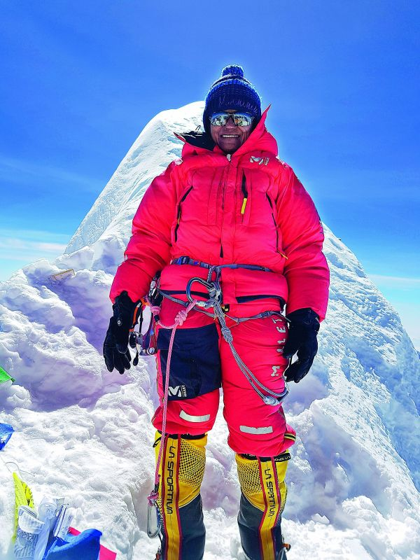 Kumar hoisted India's tricolour on Mount Denali in Alaska, USA. Mount Denali is the highest peak of North America standing at 20,310 ft.