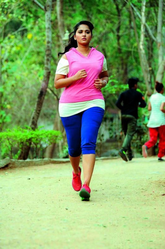 The actress put on 20 kilos for her role in Size Zero to make the look convincing