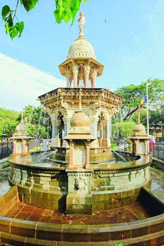 Ruttonsee Mulji Jetha Fountain