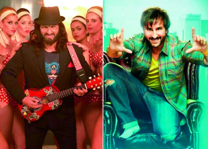 Stills from Saif Ali Khan's film, Happy Ending