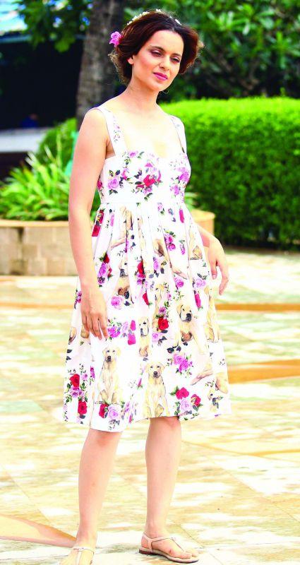 Kangana Ranaut nails the casual look.