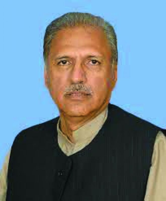 Arif Alvi of Pakistan Tehrik-e-Insaf