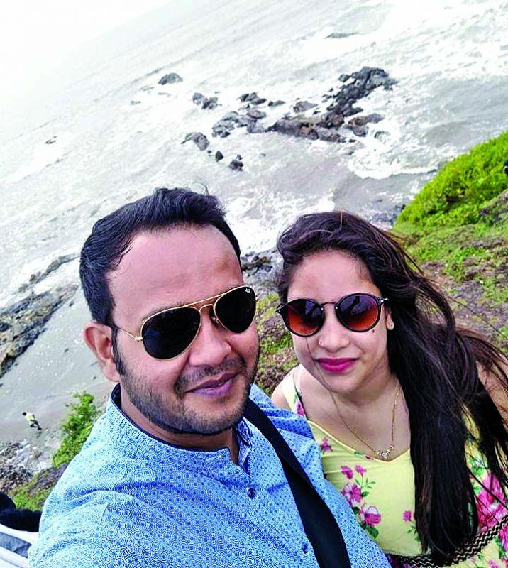 Sizzil and Lableena Choudhury