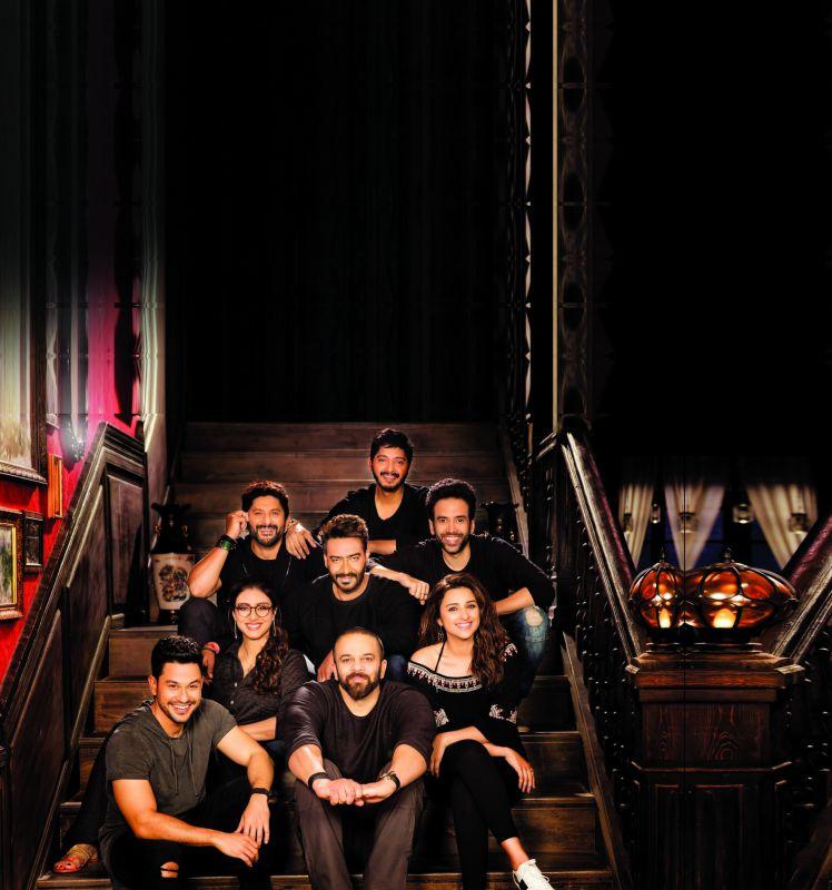 The cast of Golmaal Returns