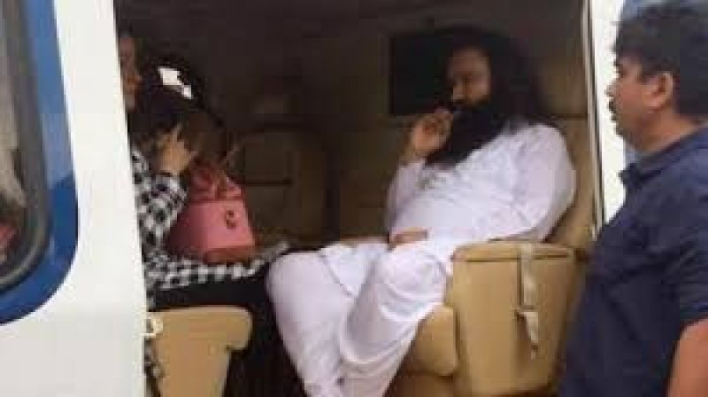 Ram Rahim was awarded two 10 years rigorous imprisonment along with Rs. 30 lakh for committing rape of two women. (Photo: PTI)