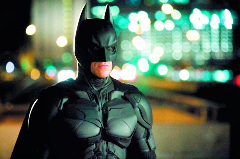 A still from Christian Bale as Batman