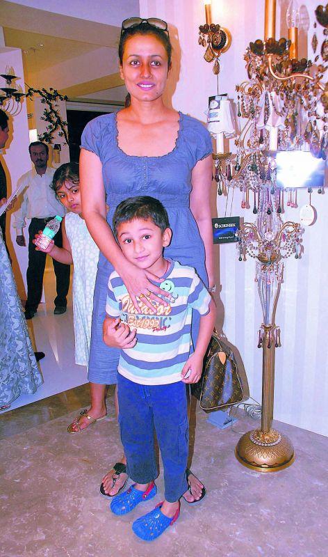 Namrata Shirodkar with her son, Gautham