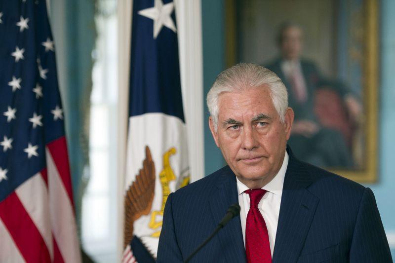 Secretary of State Rex Tillerson (Photo: AP)