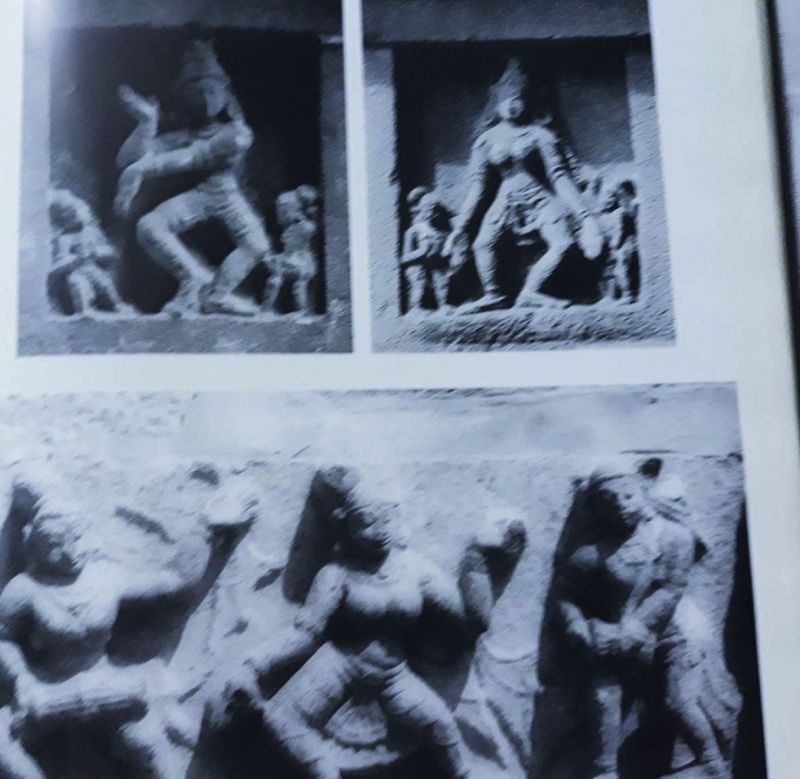 Dance sculptures referred to in the Natyashastra