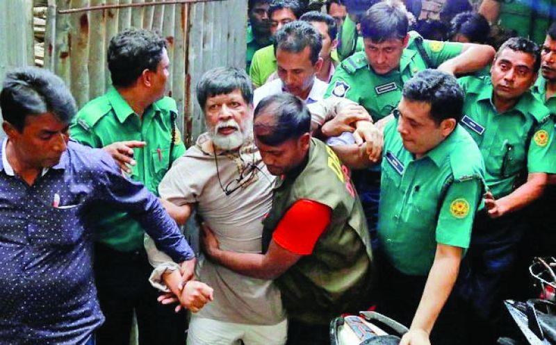 Shahidul Alam was arrested from his home in Dhaka