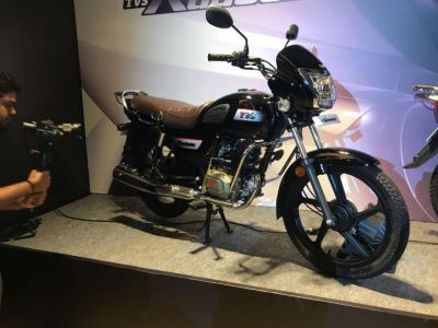 Tvs Radeon 110cc Motorcycle Launched At Rs 48400