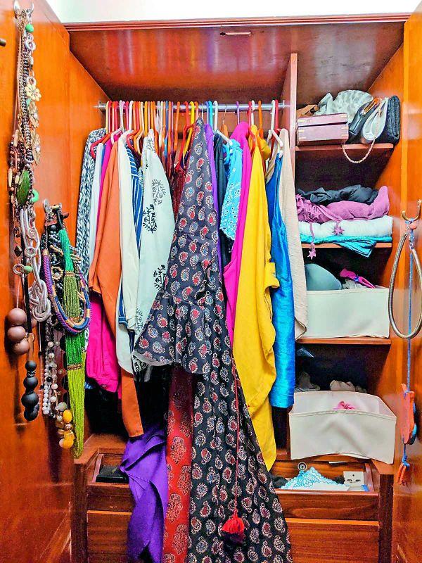 Pia D'Souza's wardrobe