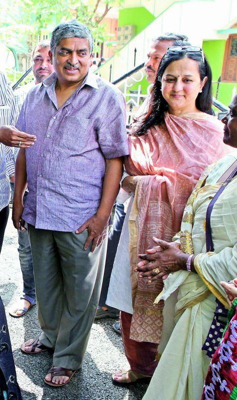 Nandan and Rohini Nilekani