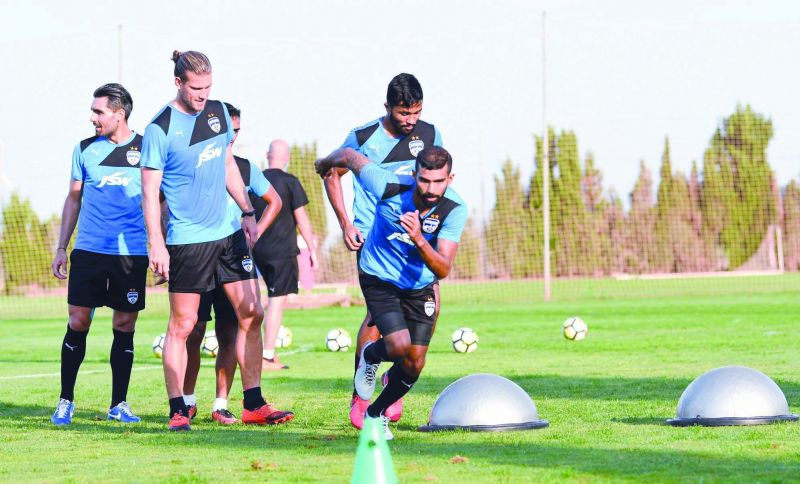 Members of BFC busy in training