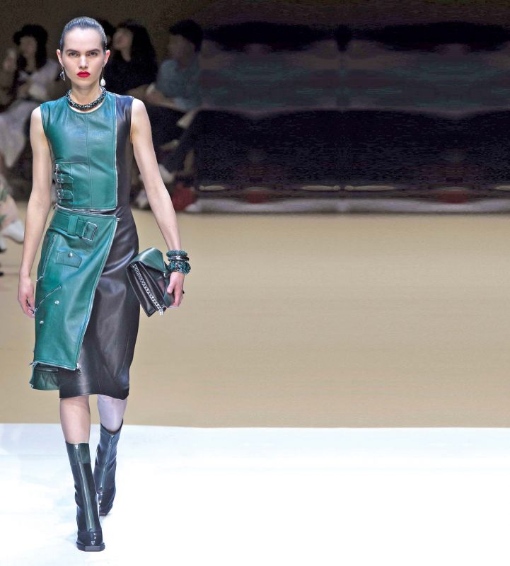 Hunter green is a must have colour in your wardrobe now.