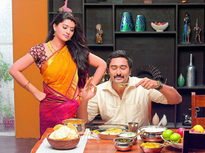 Sneha and Prasanna in a commercial