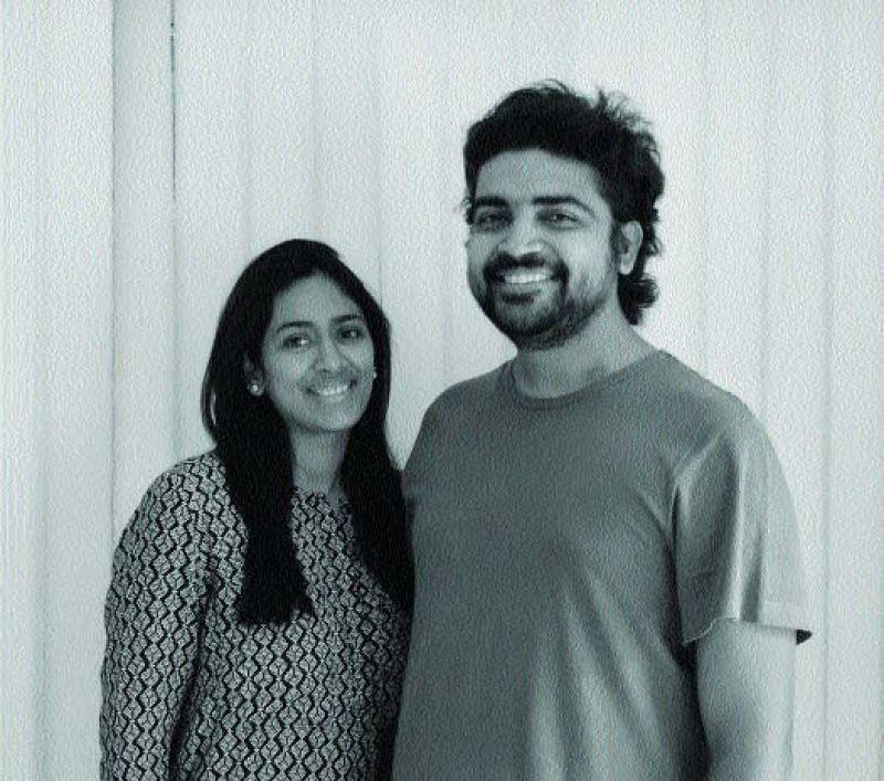 Vindhya Guduru with Baba Sashank