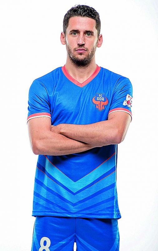 Coro was highest goal scorer and winner of the Golden Boot at the Hero Indian Super League, 2017-18