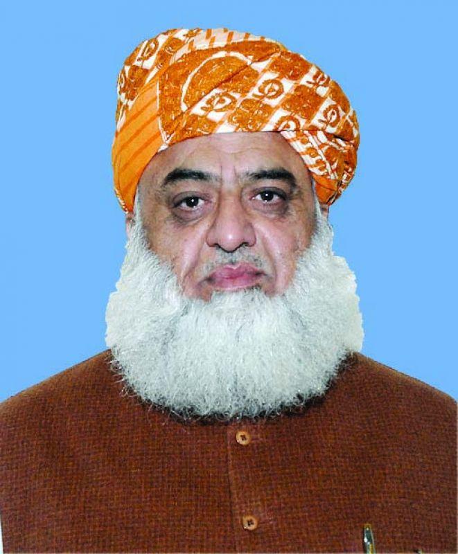 Maulana Fazlur Rehman of Muttahida Majlis-e-Amal