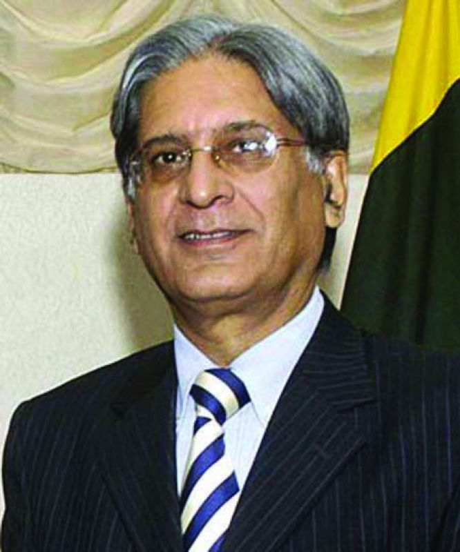 Aitzaz Ahsan of Pakistan Peoples Party's
