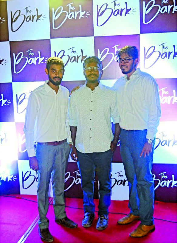 Anil Ratthen (left), Arasan (middle) and Niyas Ahamed (right)