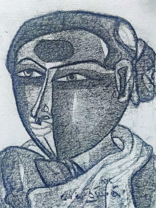 Potrayal of rural woman by T Vaikuntam