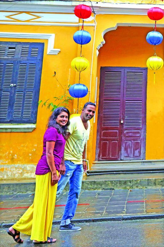Ram Prakash and Deepa Pinto