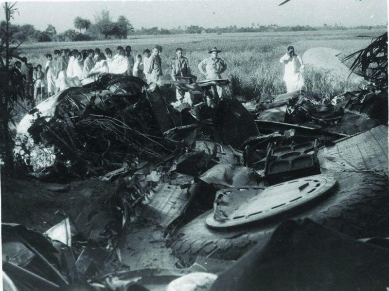 A 1945 plane crash site in Odisha