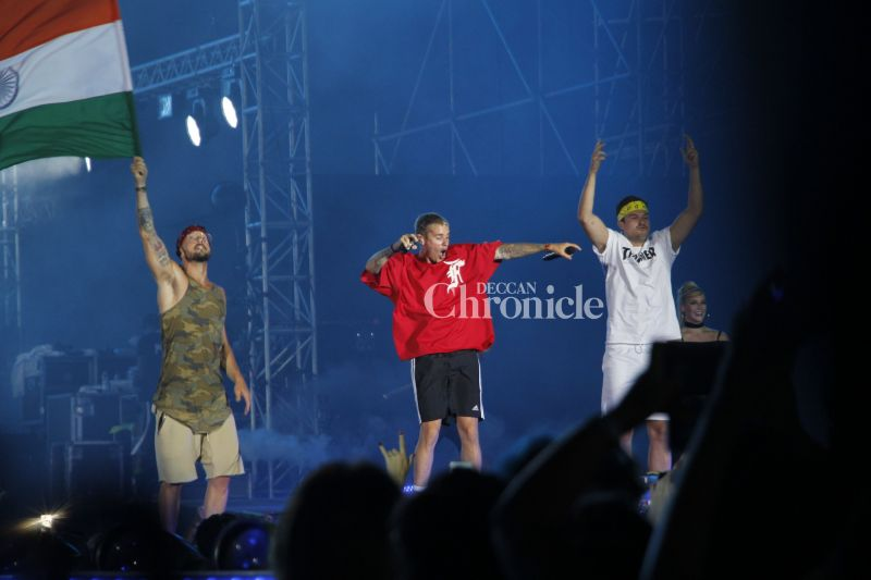 In pics: Justin Bieber gives an energetic performance at Mumbai concert