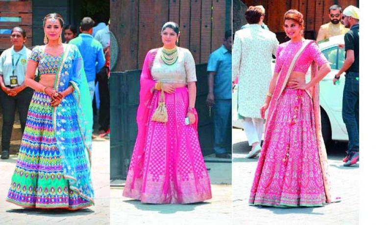 Swara Bhaskar, Anshula Kapoor and Jacqueline Fernandez
