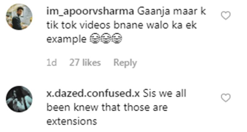 Comments on Kiara Advani's post. (Photo: Instagram)