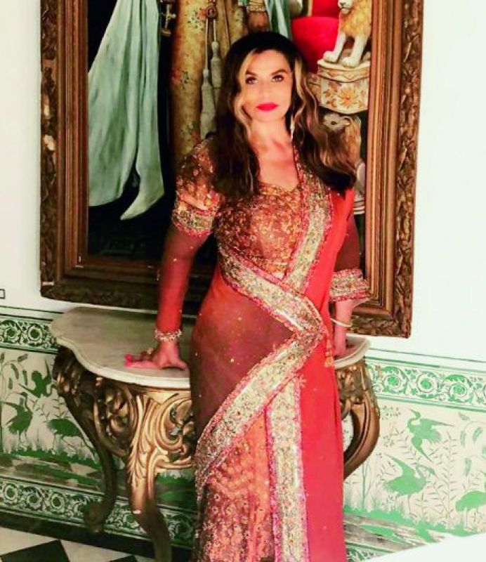 Beyonce's mother Tina Knowles