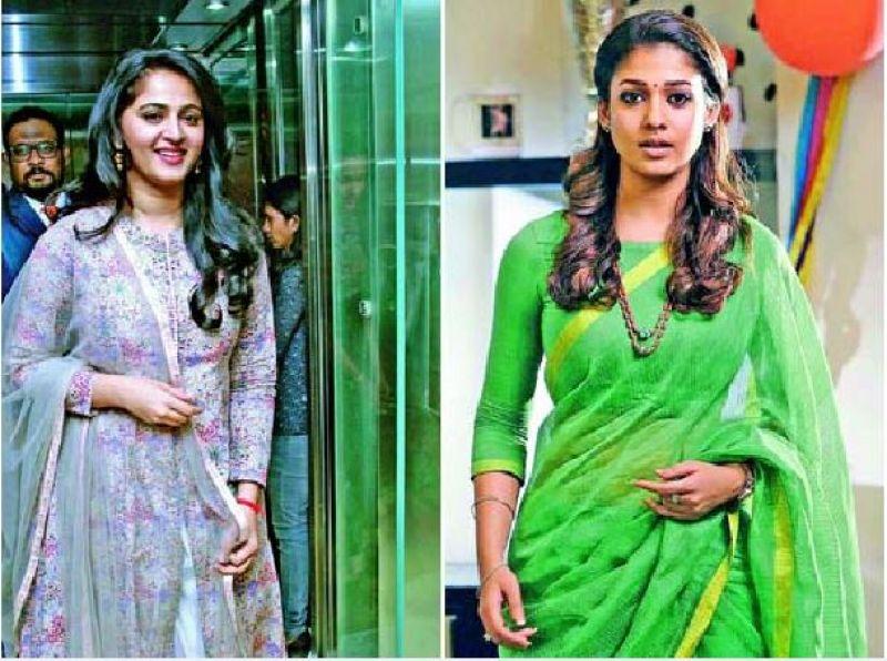 Anushka shetty and Nayanthara