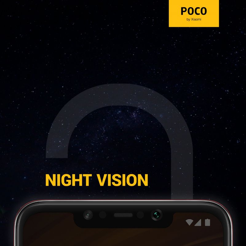 POCO F1 with stock Android? Teasers suggest so