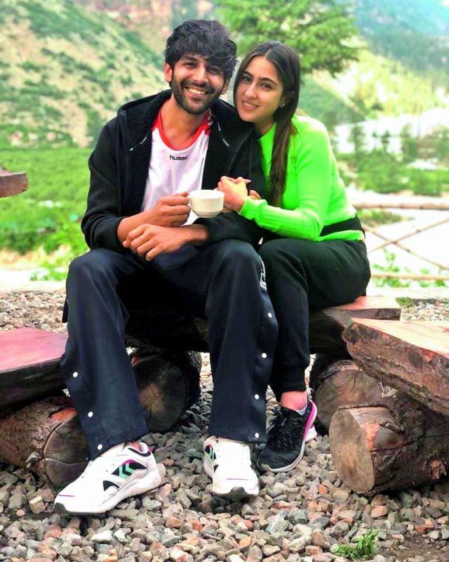 Sara Ali Khan and Kartik Aryan