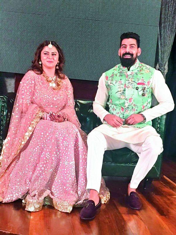 Kabir Duhan Singh and Dolly Sidhu