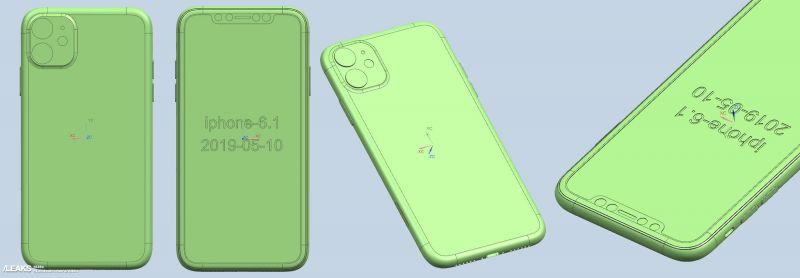 Apple iPhone 11 CAD renders