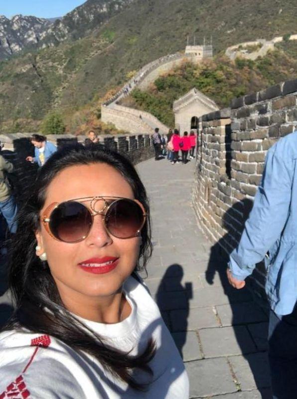 Rani Mukerji in China.