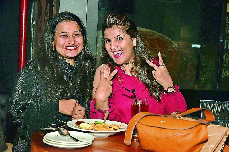 Mita and Deepika