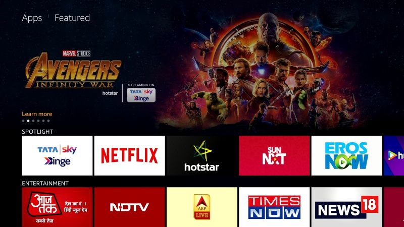 Tata Sky Binge review: Binge on with Amazon's free Fire TV Stick