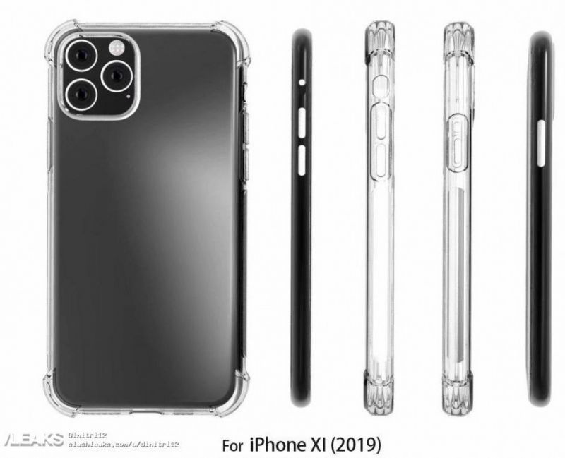 iPhone 11 case renders