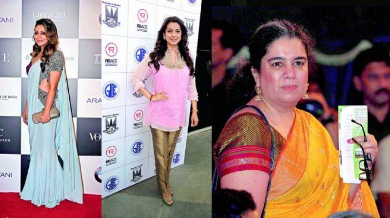 Gauri Khan, Juhi Chawla and Reena Datta