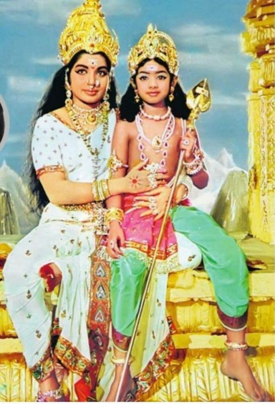 Sridevi as child artiste had shared screen space with Jayalalithaa