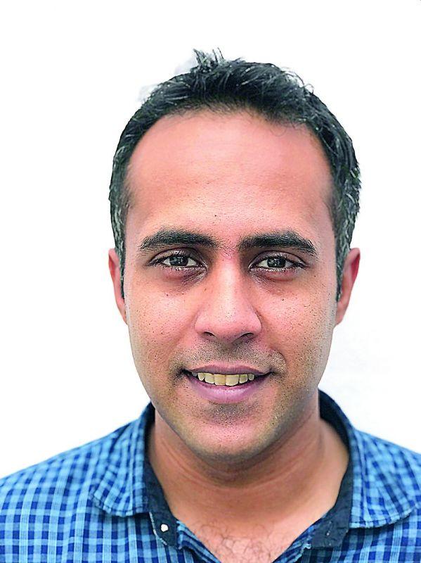 Photographer Rahul Ghosh