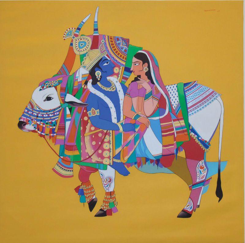 Artist Mohammed Osman's work.