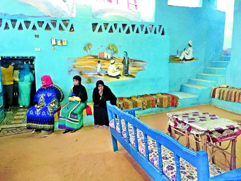 Inside a Nubian home