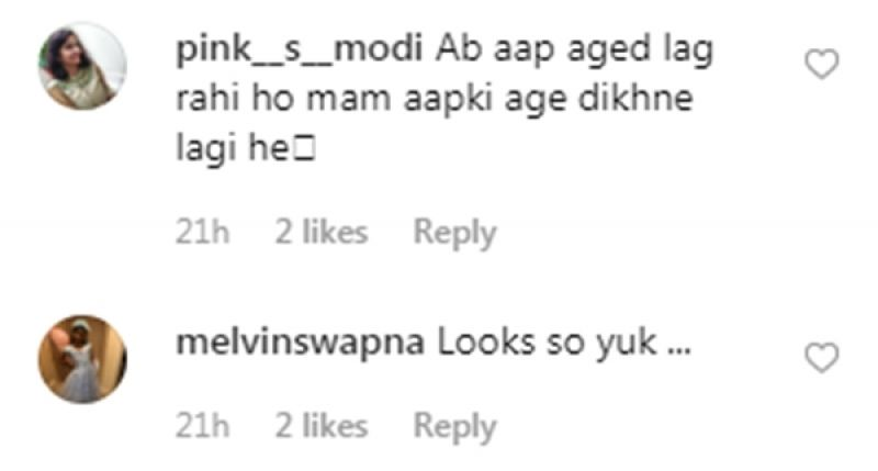 Comments on Kareena Kapoor Khan's picture. (Photo: Instagram)