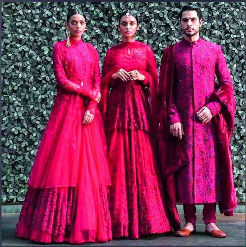 fashion designer Anju Modi's collection